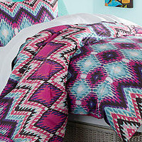 Home Accents® Diamond Ikat Comforter Set