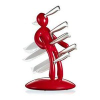 ThinkGeek :: The Ex - Unique Knife Holder
