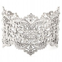 Chantilly Lace Cuff Bracelet  | IAM by Ileana Makri ♦ mytheresa