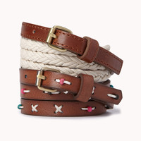 Skinny Braided Hip Belt