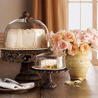 GG Collection Cake and Cheese/Dessert Domes & Pedestals