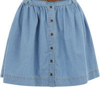 Oasis Skirts | Denim Button Through Denim Skirt | Womens Fashion Clothing | Oasis Stores UK