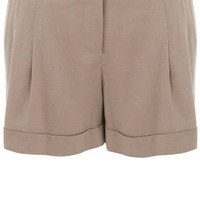Oasis Trousers/Shorts | Light Neutral Tencel Shorts | Womens Fashion Clothing | Oasis Stores UK