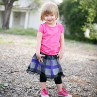 Punk ROCK PLAID TuTu skirt by Poppy Sprouts | PoppysWickedGarden - Clothing on ArtFire