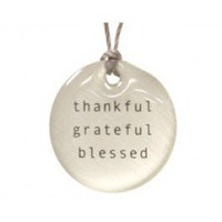 thankful pendant