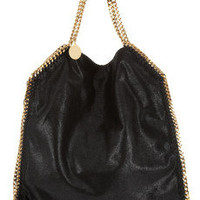 Stella McCartney | The Falabella faux brushed-leather shoulder bag | NET-A-PORTER.COM