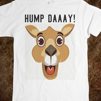 IT'S HUMP DAY WHITE TEE T SHIRT