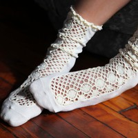 Free People Daisy Lane Ankle Sock