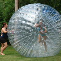 Inflatable Zorb Ball Giant Human Hamster on Land Commercial Water Walking Pool