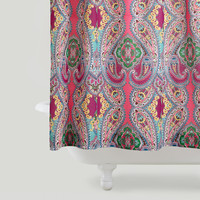 Pink Venice Shower Curtain
