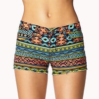 High-Wattage Tribal Cut Offs | FOREVER 21 - 2057501943