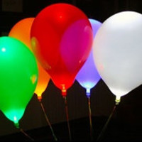 LED Balloons, Light Up Balloons, LED Light Balloons, Bulk LED Balloons, Party Balloons with Lights inside