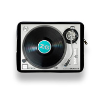Put A Record On - Laptop Cover by ZERO GRAVITY