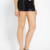 Jack By BB Dakota Calypso Studded Vegan Leather Short