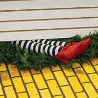 Wicked Witch Legs Prop