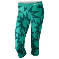 Nike Pro Printed Capri - Women's at Foot Locker