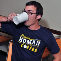 Instant Human Just Add Coffee T-Shirt | SnorgTees