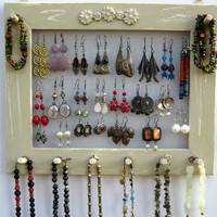 JEWELRY ORGANIZER HOLDER Widthwise mocca Shabby Chic