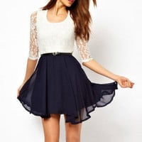 Casual Womens Summer Chiffon Dress