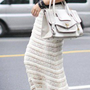 Feminine Spring. Romantic Lace Long Skirt. Offwhite And Black Choice | GlamUp - Clothing on ArtFire