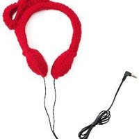 CROCHET BOW HEADPHONES | Earmuff Headphones, Knit Headphones for Women | UncommonGoods