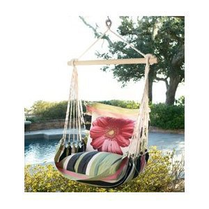 Swing with Designer Pillow