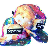 Galaxy Tye Dye Supreme Snap Back Hat