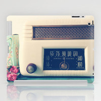 Retro Radio iPad Case by Olivia Joy StClaire