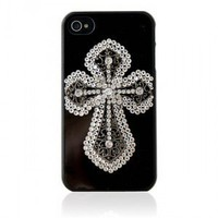 Rhinestone Iphone4/4S Case--The Cross