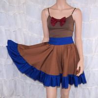 11th Doctor Who Bowtie Summer Dress Cosplay Costume by mtcoffinz