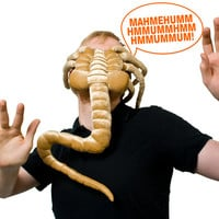 Alien Facehugger Plush at Firebox.com