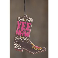 Car  Air  Fresheners:  Yee  Haw  Air  Freshener  From  Natural  Life