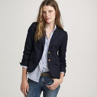 Navy schoolboy blazer