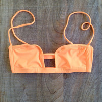 The Girl and The Water - Indah - Laguna Top Melon - $86