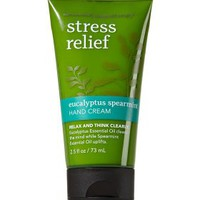 Stress Relief - Eucalyptus Spearmint Hand Cream   - Aromatherapy - Bath & Body Works
