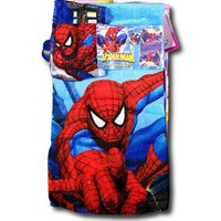 Amazing Spiderman Bath Towel &amp; Wash Cloth Set