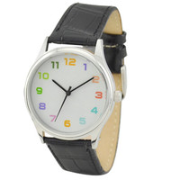 Colorful Watch (12 numberals )