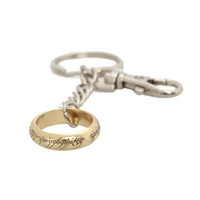 The Lord Of The Rings The One Ring Key Chain | Hot Topic