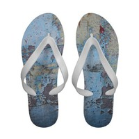 Weathered Blue Sandal Sandals from Zazzle.com