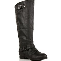 SALE-Black Riding Boot