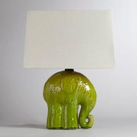 Elephant Ceramic Table Lamp | World Market