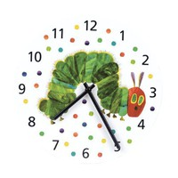 Mudpuppy Eric Carle Caterpillar Wall Clock