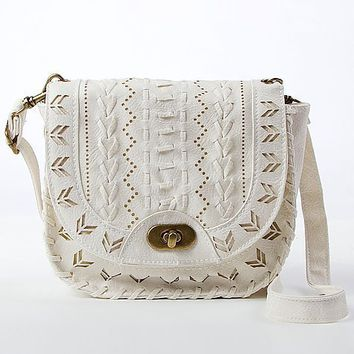 Cut-Out Crossbody Purse