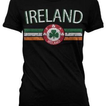 Ireland Crest International Soccer Juniors T-shirt, Irish Soccer Juniors T-shirt