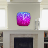 DENY Designs Home Accessories | Lisa Argyropoulos New Galaxy Modern Clock