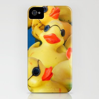 Just Ducky iPhone Case by Joy StClaire | Society6