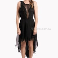 hello dolly cocktail - black - SALE at Esther Boutique