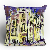 Ginette Fine Art Milano Throw Pillow