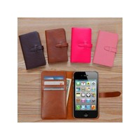 Handmade iPhone4/4S leather classic case
