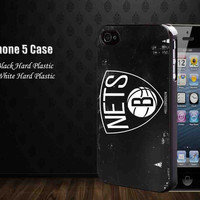 Brooklyn Nets Basket,Iphone 5 case,accesories case,cell phone